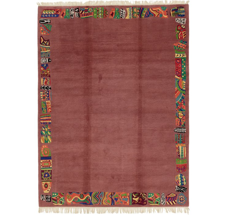 HandKnotted 7' 3 x 9' 9 Nepal Rug