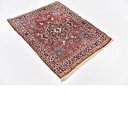 Link to 2' 7 x 3' 4 Heriz Persian Rug