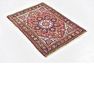 Link to 2' 4 x 3' Heriz Persian Rug