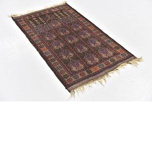 2' 6 x 4' 2 Balouch Persian Rug
