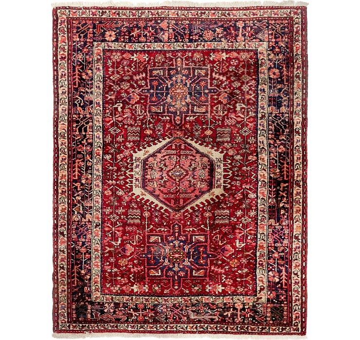 152cm x 195cm Gharajeh Persian Rug
