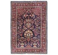 Link to 135cm x 200cm Kashan Persian Rug