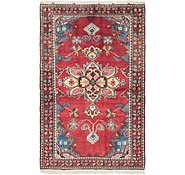 Link to 4' 9 x 7' 6 Hossainabad Persian Rug