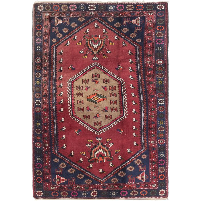 4' 3 x 6' 5 Kelardasht Persian Rug