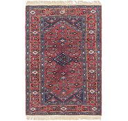 Link to 4' 3 x 6' 7 Hamedan Persian Rug