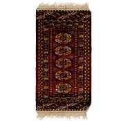 Link to 1' 8 x 3' 4 Bokhara Oriental Rug