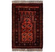 Link to 80cm x 122cm Afghan Akhche Rug