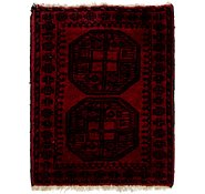 Link to HandKnotted 2' 2 x 2' 10 Afghan Akhche Square Rug