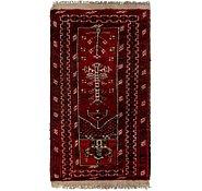 Link to 2' x 3' 9 Afghan Akhche Rug