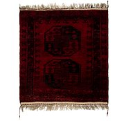 Link to 2' 10 x 3' Afghan Akhche Square Rug