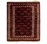 Link to 2' 2 x 2' 8 Bokhara Oriental Square Rug