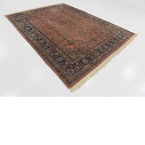 7' 5 x 9' 8 Sarough Persian Rug