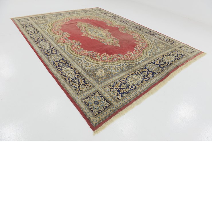 9' x 11' 7 Kerman Persian Rug