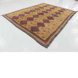8' 6 x 11' Shiraz-Gabbeh Persian Rug