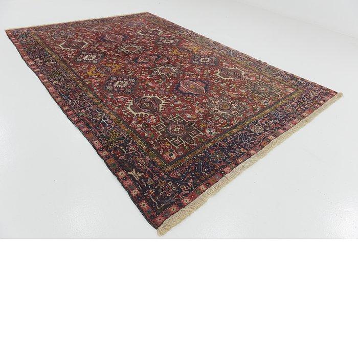7' 7 x 11' Gharajeh Persian Rug