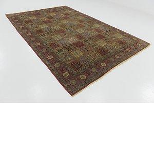 7' 4 x 11' Sarough Persian Rug
