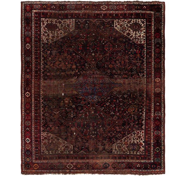 10' 4 x 12' 7 Shiraz Persian Rug
