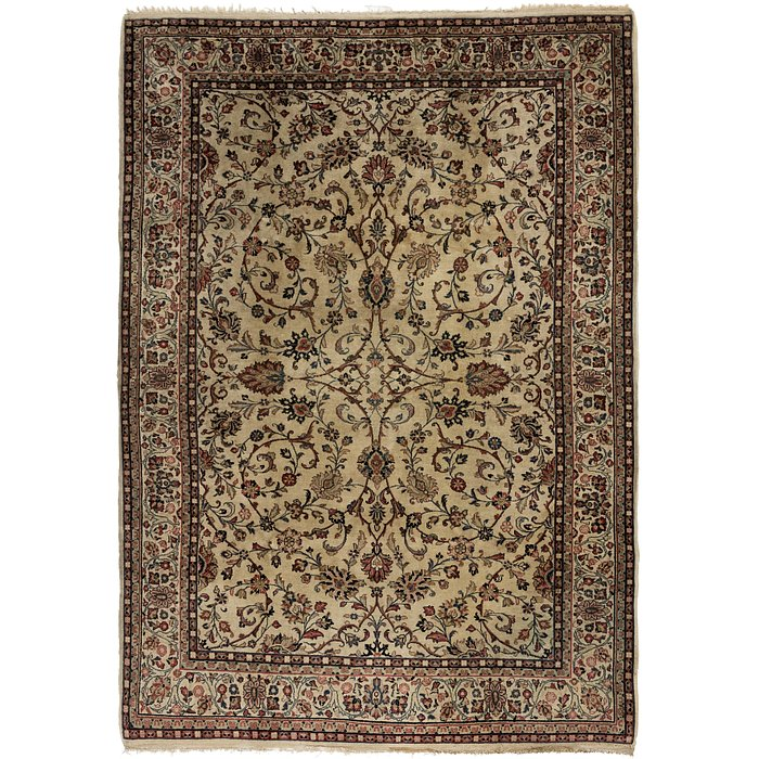 7' x 10' Meshkabad Persian Rug