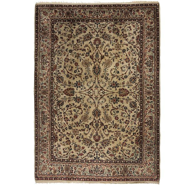 213cm x 305cm Meshkabad Persian Rug