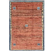 Link to 6' 10 x 10' Shiraz-Gabbeh Persian Rug