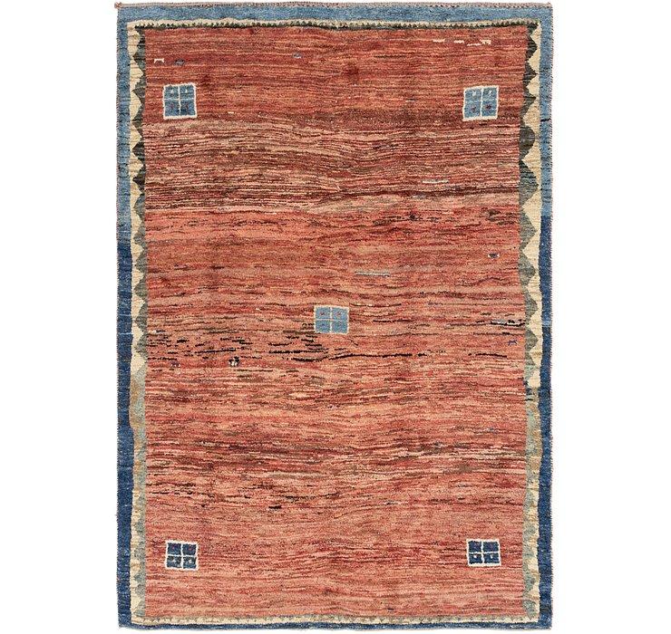 6' 10 x 10' Shiraz-Gabbeh Persian Rug