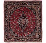 Link to 9' 6 x 10' 9 Mashad Persian Square Rug
