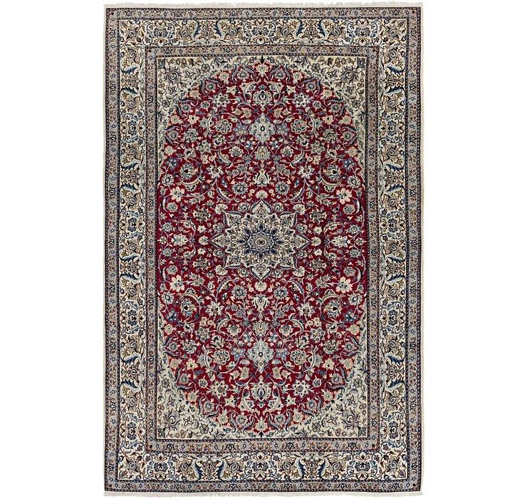 HandKnotted 6' 8 x 10' 2 Nain Persian Rug