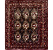 Link to 7' 8 x 8' 10 Meshkabad Persian Square Rug