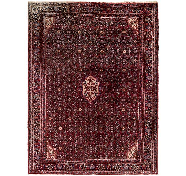 8' 3 x 11' Hossainabad Persian Rug