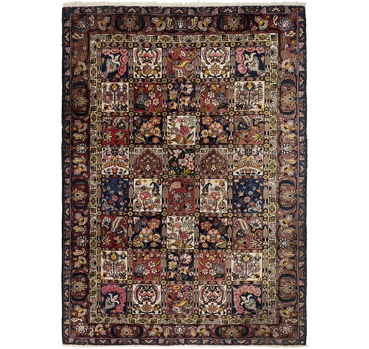 HandKnotted 6' 10 x 9' 8 Bakhtiar Persian Rug