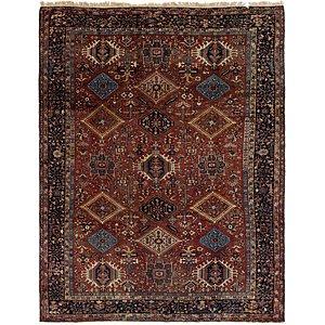 9' 4 x 12' 8 Gharajeh Persian Rug