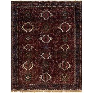 9' 10 x 12' 3 Gharajeh Persian Rug