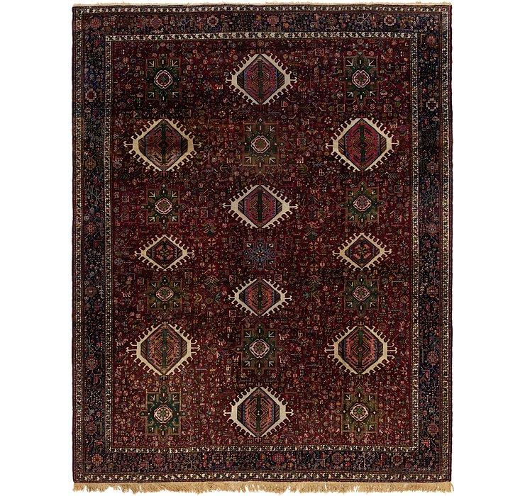 300cm x 373cm Gharajeh Persian Rug