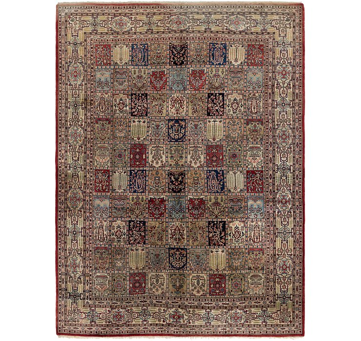 HandKnotted 10' 8 x 14' 8 Sarough Persian Rug