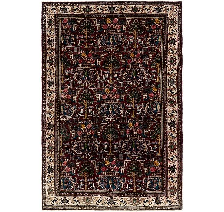 8' x 12' 7 Bakhtiari Persian Rug