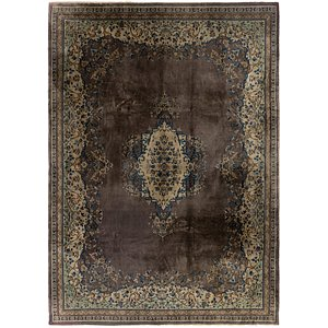 9' x 12' 10 Kerman Persian Rug