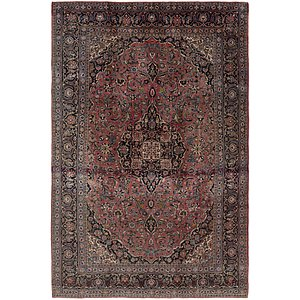8' 5 x 12' 5 Kashan Persian Rug