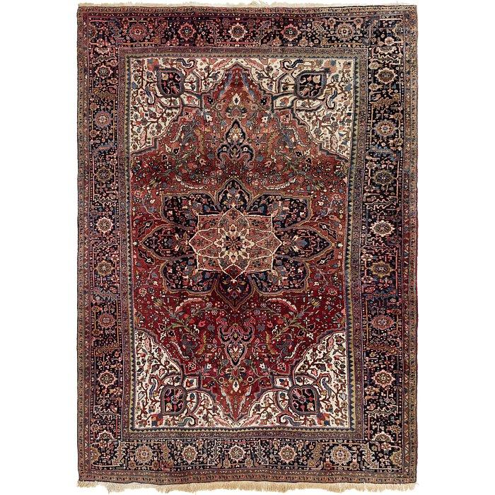 8' 6 x 12' 2 Heriz Persian Rug