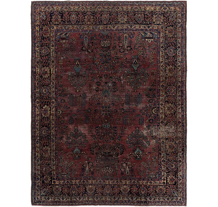 8' 9 x 11' 5 Sarough Persian Rug