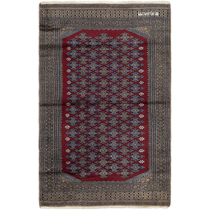 3' 2 x 5' Bokhara Oriental Rug