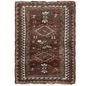 Link to 3' x 4' Kars Oriental Rug
