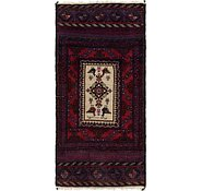 Link to 2' 9 x 5' 6 Balouch Persian Rug