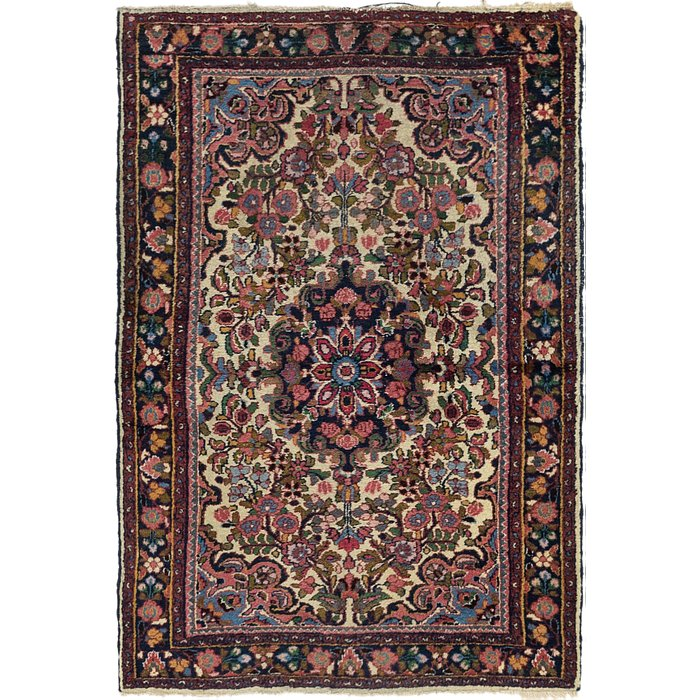 3' 6 x 5' 2 Borchelu Persian Rug