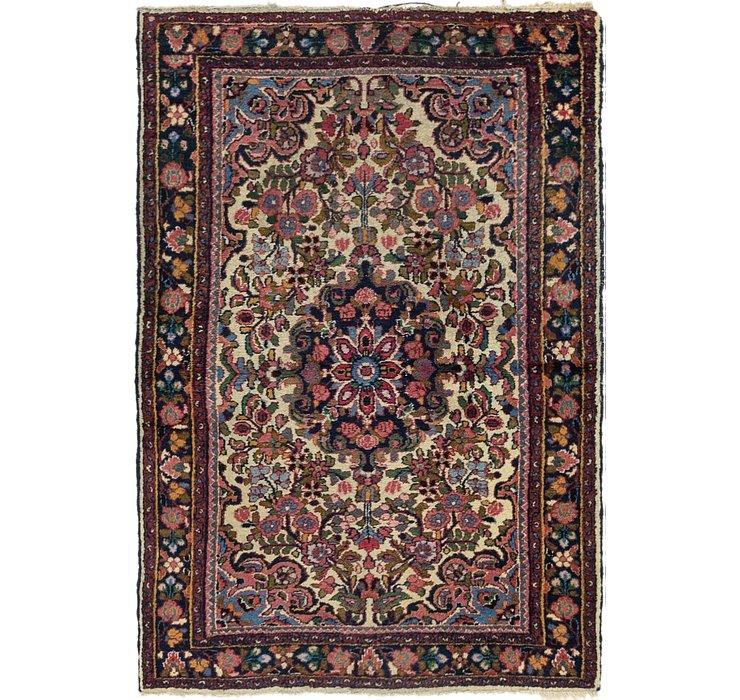 3' 6 x 5' 2 Borchelu Persian Rug