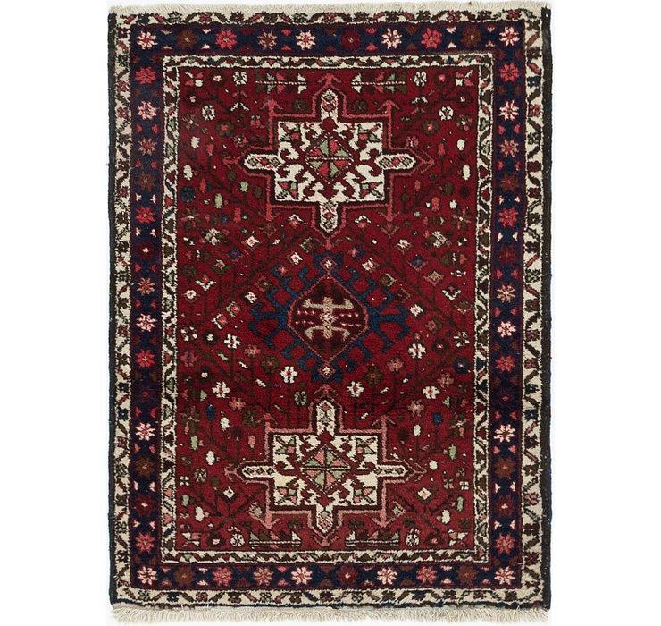 3' 6 x 4' 7 Gharajeh Persian Rug