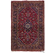 Link to 3' 4 x 4' 10 Kashan Persian Rug