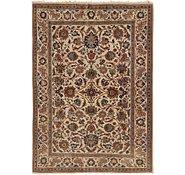 Link to 3' 10 x 5' 3 Kashan Persian Rug