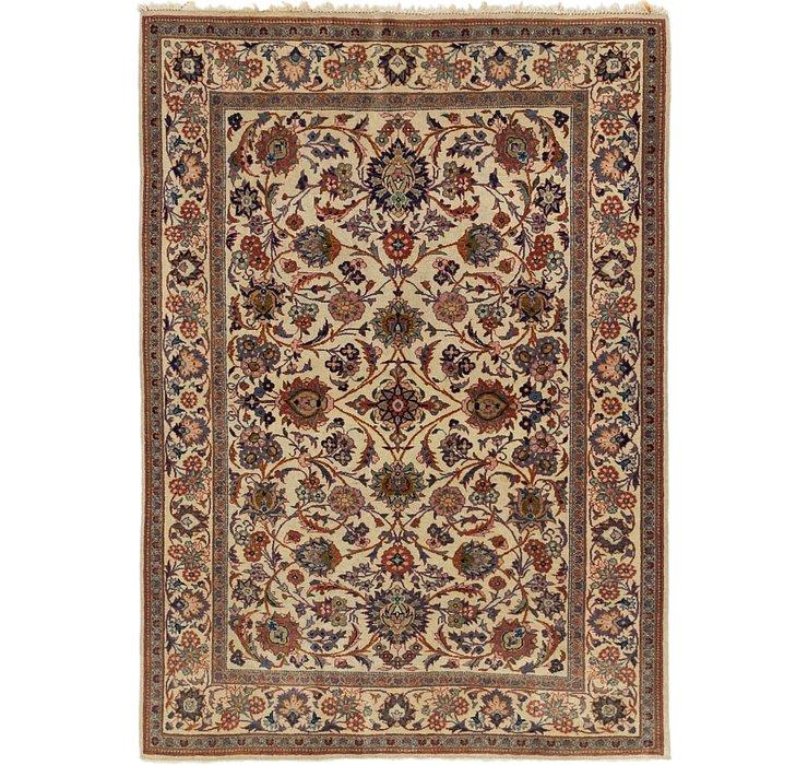 3' 10 x 5' 3 Kashan Persian Rug