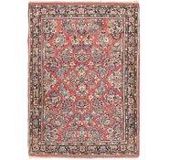 Link to 3' 4 x 4' 10 Sarough Persian Rug