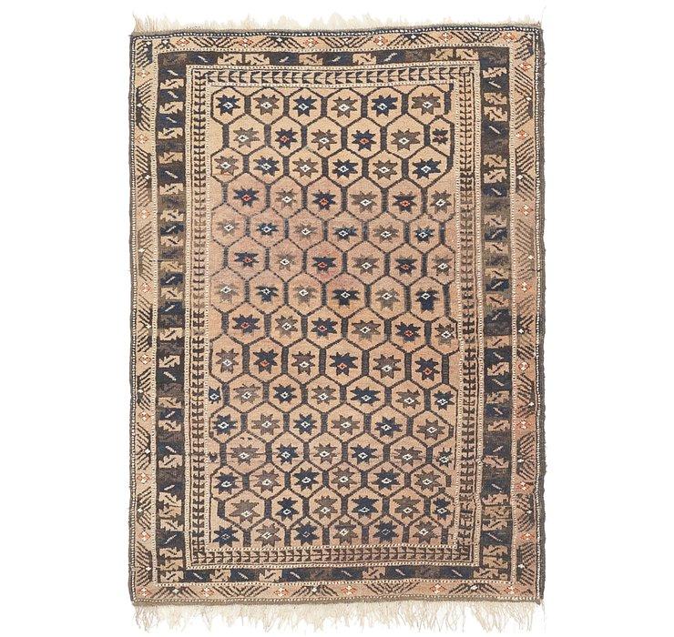 100cm x 152cm Balouch Persian Rug